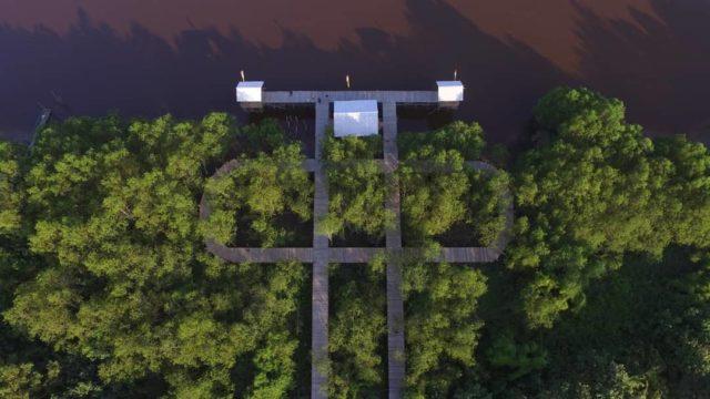 Taman Mangrove Suak Merambai Lokasi : Kampung Suak Merambai, Kec. Bungaraya, Siak