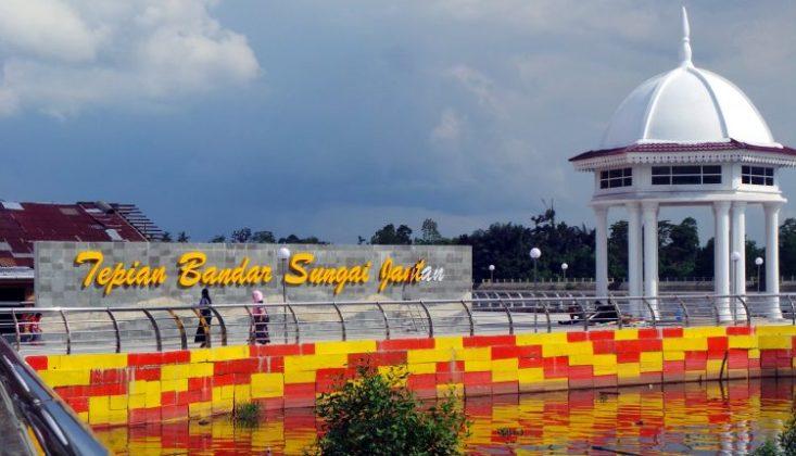Tepian Bandar Sungai Jantan Lokasi : Kota Siak Sri Indrapura, Kabupaten Siak, Riau